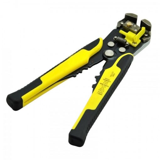 Multifunction Self Adjusting Wire Stripper - Yellow