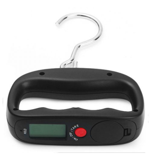 50 Kg Hanging Electronic Luggage Scale - Black