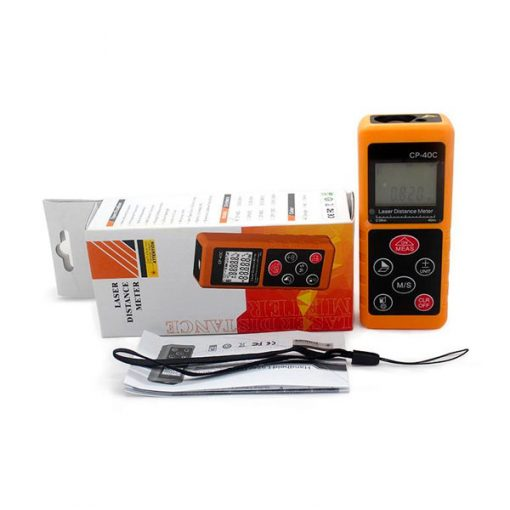 CP-40C 40M Handheld Laser Distance Meter - Orange