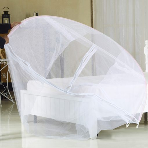 1.2m Foldable Mosquito Net with frame / Bed Mantle - White