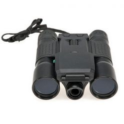 1.3MP 12x Zoom Binocular With Digital Video Camera - Black