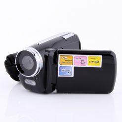 1.8 Inch LCD Cyber-cam Mini Dv Camcorder 12mp 4x Zoom - Black