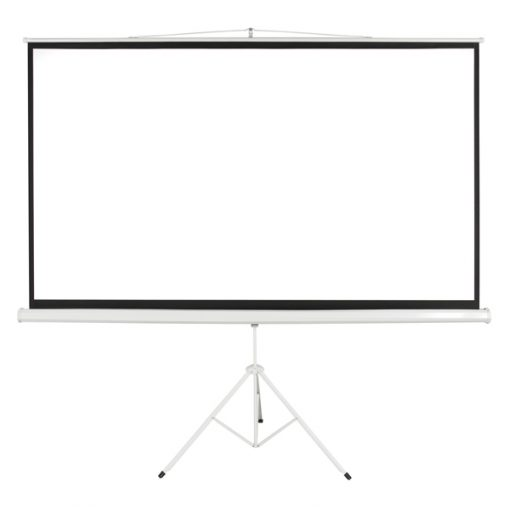 100 Inch 4:3  Projector Screen - White