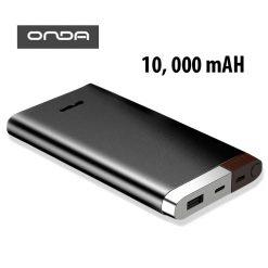 Onda V100T 10,000 mAh Powerbank With Lightning And Micro USB Input - Black