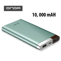 Onda V100T 10,000 mAh Powerbank With Lightning And Micro USB Input - Green