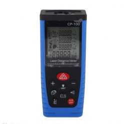 100m Digital Laser Distance Meter - Blue
