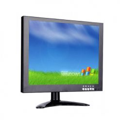 10 Inch CCTV Monitor With HDMI VGA AV Input And USB Port - Black