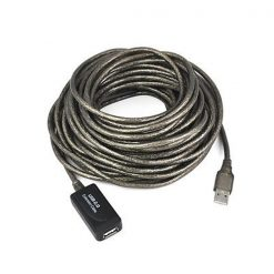 10 Meters USB 2.0 Extension Cable - Black