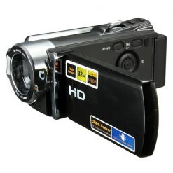 16MP 16x Zoom Full HD Video Camera - Black