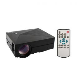 Mini 1000 Lumens LED Projector - Black