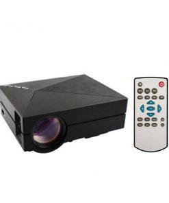 Mini 1000 Lumens LED Projector - Black