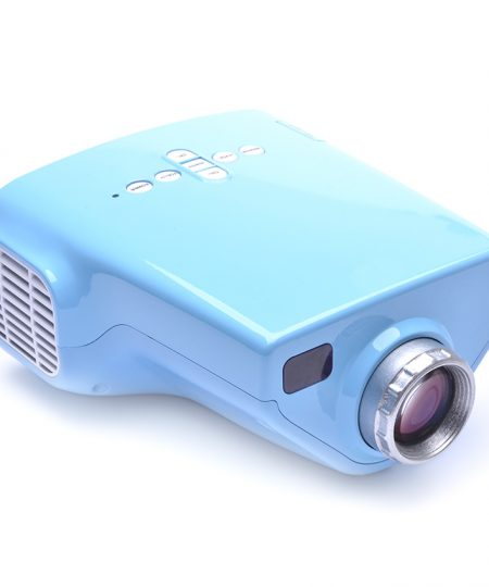 1080P Portable100 Lumens LED Overhead Projector with TV Tuner - Blue