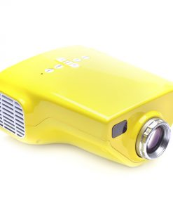 1080P Portable100 Lumens LED Overhead Projector with TV Tuner - Yellow