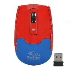 1600 DPI  Wireless Mouse - Red