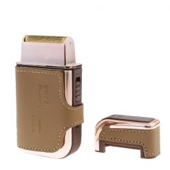 Rechargeable Shaver Trimmer -Brown/Gold