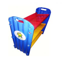 Colorful 6 Slot Toy Storage Organizer