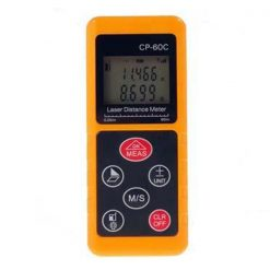 CP-60C 60M Handheld Laser Distance Meter - Orange