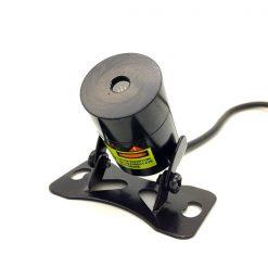 Car Rear Laser Projection Warning Light - Black
