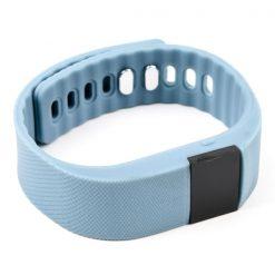 OLED Bluetooth Health Monitor Sports Bracelet - Gray