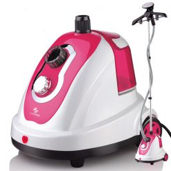 Heavy Duty Garment Steamer - Pink