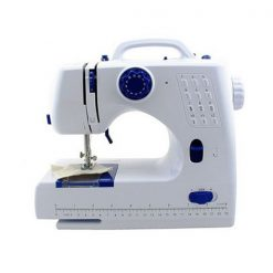 12 Stitches Mini Sewing Machine With Built-in Sewing Light