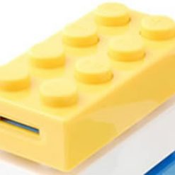 Block MP3 Player - Yellow