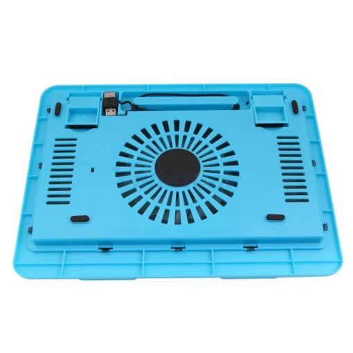15'' Laptop Cooling Pad X-850 Double USB High Power Fans - Blue
