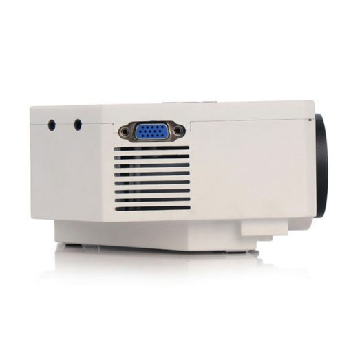 150 Lumens Multimedia LED  Projector System - White