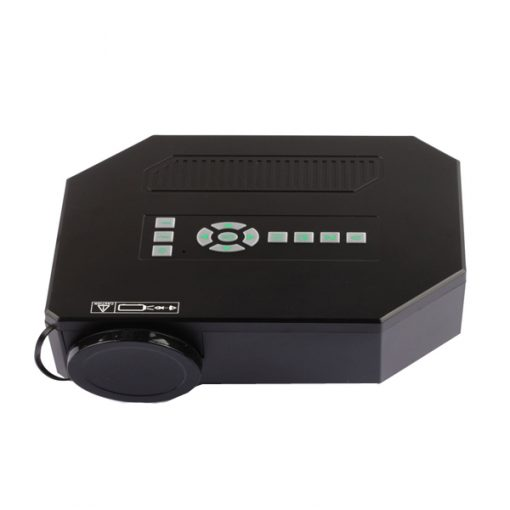 150 Lumens Multimedia LED Projector System - Black