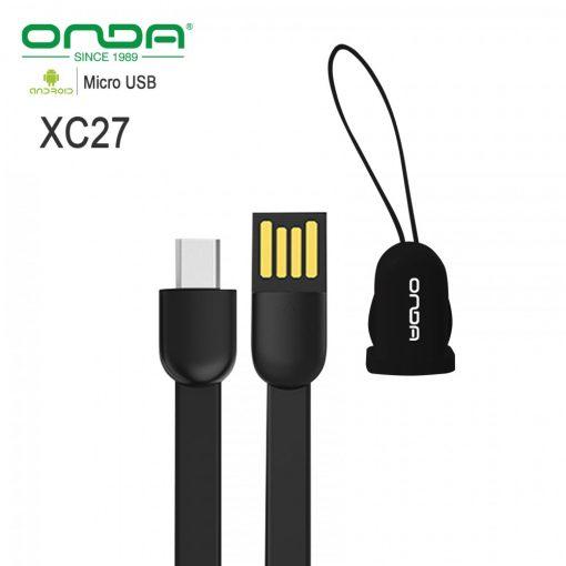 Onda XC27 Micro USB Cable 20cm - Black