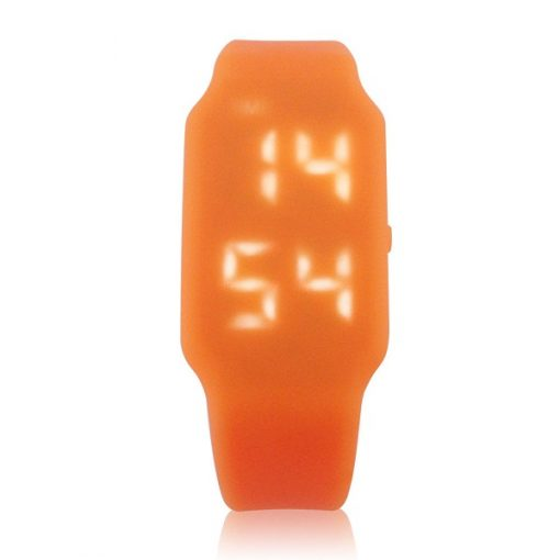 8GB USB LED Watch  - Orange