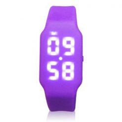8GB USB LED Watch  - Purple