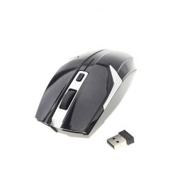 Iron Man Wireless Optical Mouse - Black