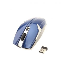 Iron Man Wireless Optical Mouse - Blue
