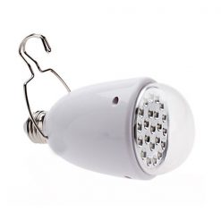 3 in 1 Rechargeable AC/DC 22 LED Emergency Light Lamp Bulb  - White