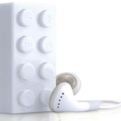 Block MP3 Player - White