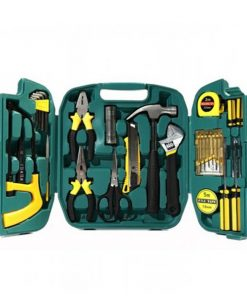 27 Pieces Repair And Maintenance Tool Set - Black/Yellow
