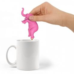 Elephant Silicone Tea Infuser - Pink