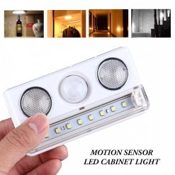 Motion Sensor LED Cabinet Light Lamp  - White
