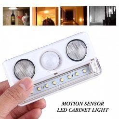 Motion Sensor LED Cabinet Light Lamp - White