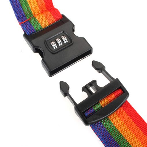 3 Digit Combination Luggage Suitcase Strap