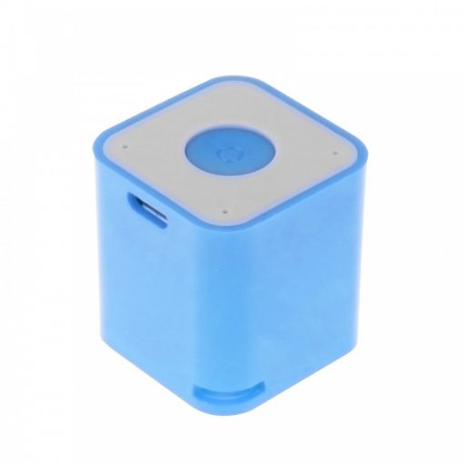 3 in 1 Smart Micro Bluetooth Speaker With Shutter and Anti lost Function - Blue