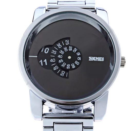 30 Meters Waterproof Digital Movement Watch - Silver