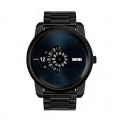 30 Meters Waterproof Digital Movement Watch - Black