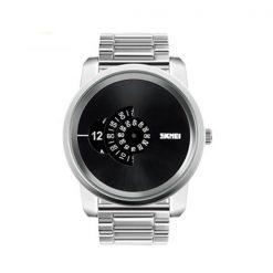 30 Meters Waterproof Digital Movement Watch - Silver