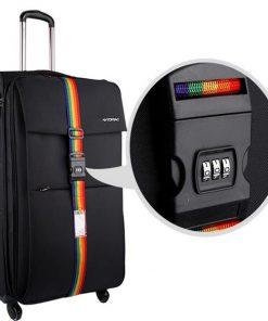 3 Digit Combination Luggage Suitcase Strap
