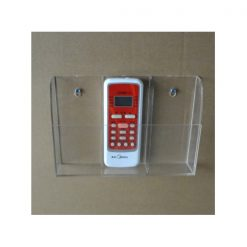 3 Layers Acrylic Remote Control Holder - Transparent
