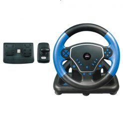3 in 1 High Speed Wheel Advance For PC PS2 PS3 - Blue