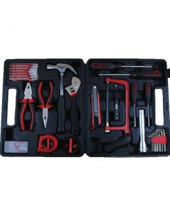 32 Pieces Repair And Maintenance Tool Set - Black/Red