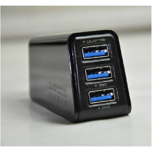 3 USB Ports USB 2.1A triple USB Wall Charge